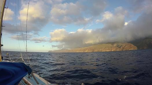 Approaching St Helena