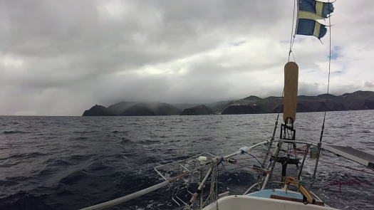 Leaving St Helena